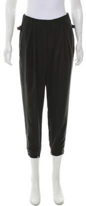 Helmut Lang Mid-Rise Straight Pants