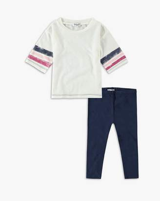 Splendid Baby Girl Roller Stripe Tee Set