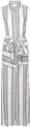 Tome striped maxi dress