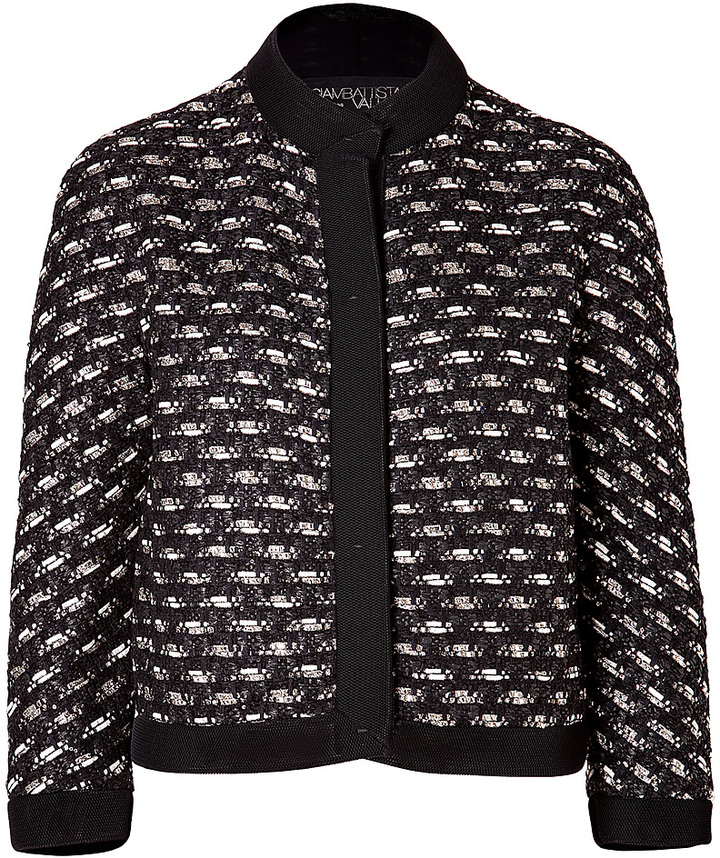 Giambattista Valli Cotton-Wool Blend Jacket