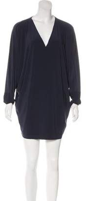 Norma Kamali Long Sleeve Mini Dress