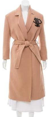 Emilio Pucci Belted Long Coat