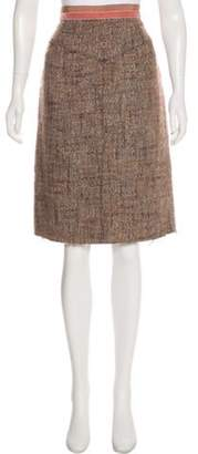 Marc Jacobs Wool Tweed Skirt wool Wool Tweed Skirt