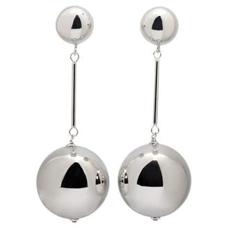 J.W.Anderson Silver Metal Earrings
