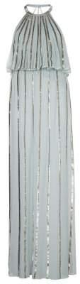 Sass & Bide Striped Sequin Gown