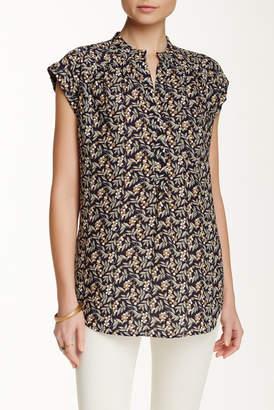 Pleione Short Sleeve Kim Blouse $64 thestylecure.com