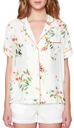 Willow & Clay Floral Print Shirt $79 thestylecure.com