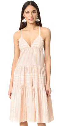 Mara Hoffman Tiered Dress $195 thestylecure.com