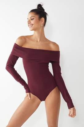 Out From Under Brianna Off-The-Shoulder Bodysuit