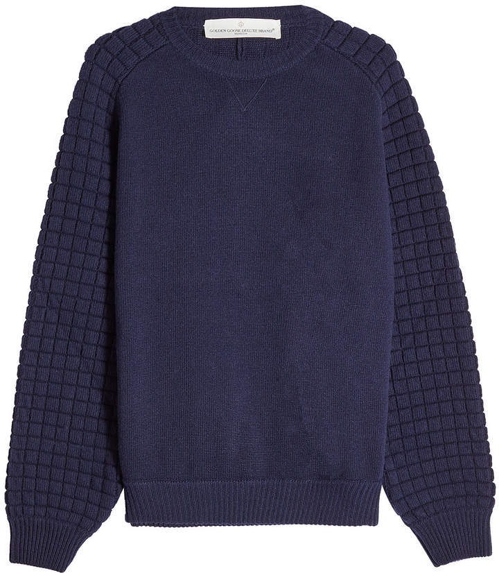 Golden Goose Deluxe Brand Fleece Wool Pullover