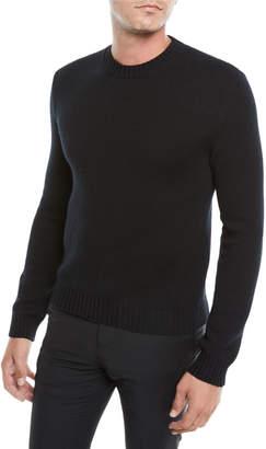 Valentino Men's Crewneck Cashmere Pullover Sweater