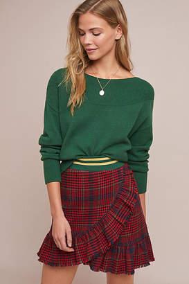 J.o.a. Alexa Plaid Mini Skirt