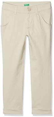 Benetton Girl's Trouser,One (Size: 1y)