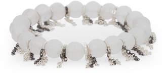 Schiff Marlyn Fringe Chain Stretch Bracelet