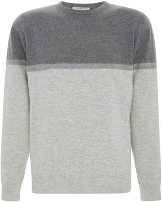 Fioroni Two-Toned Cashmere Sweater