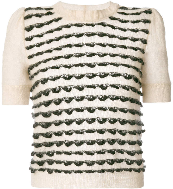 Emporio Armani short sleeved sweater
