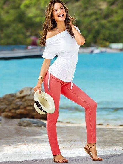 Victoria's Secret Siren Mid Rise Skinny Jean