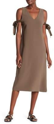 Theory Natia Modern Crepe Dress