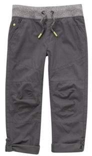 F&F Ripstop Rib Waist Trousers 9-10 years