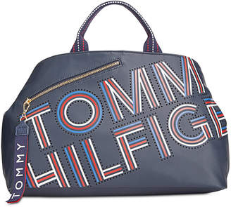 Tommy Hilfiger Adari Coated Twill Tote, Created for Macy's
