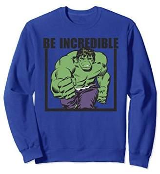 Marvel Hulk Be Incredible Classic Boxed Graphic Sweatshirt