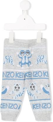 Kenzo logo lined leggings