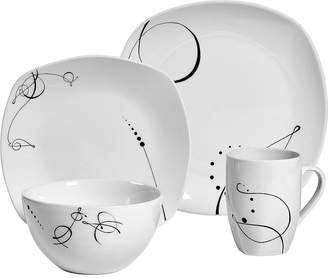 ... Tabletops Unlimited Pescara 16 Pc. Porcelain Dinnerware Set