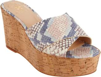 Vince Camuto Cross Band Wedges - Kessina