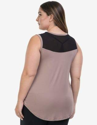 2323034c65ba4 Lola Getts Princess Sleeveless Top in Summer Toasted Black Size 1