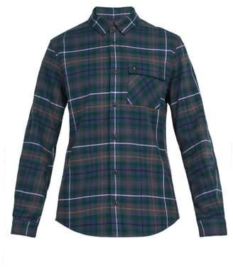 Aztech Mountain - Loge Peak Checked Cotton Shirt - Mens - Green