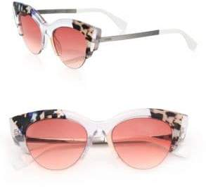 Fendi 50MM Acetate Cat's-Eye Sunglasses