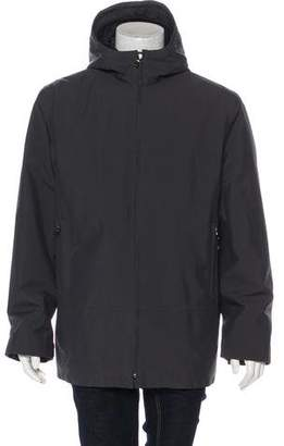 Prada Sport Gore-Tex Hooded Layered Coat