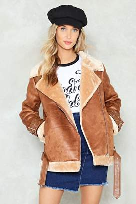 Nasty Gal What Are You Waiting Fur Faux Fur Jacket