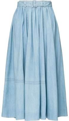 3783e7251f5 Long Denim Skirt - ShopStyle Canada
