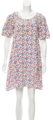 Madison Marcus Printed Tent Dress