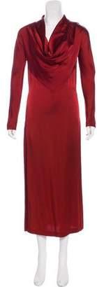 Jean Paul Gaultier Classique Satin Evening Dress