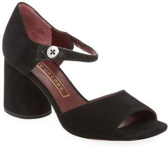 Marc Jacobs Women's Sloan Button Block-Heel Sandal