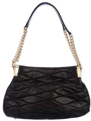 Eric Javits Quilted Leather Chain Bag
