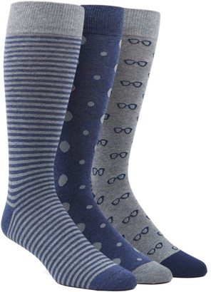 The Tie Bar The Navy Sock Pack