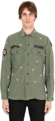 Vintage Military Cotton Gabardine Shirt