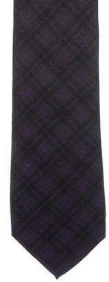 Ralph Lauren Black Label Plaid Silk Tie