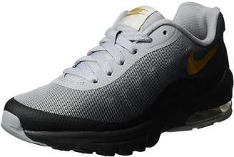 Nike Women's Air Max Invigor Print Black/Metallic Gold Wolf Grey Running Shoe 7.5 Women US