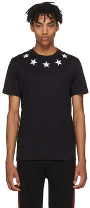 Givenchy Black and White Stars T-Shirt