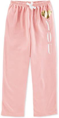 Carter's Big Girls Heart You Pajama Pants