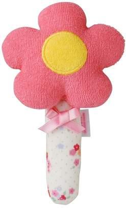 Mikihouse (ミキハウス) - ミキハウスベビー お花の形のソフトラトル【ピンク】