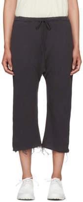 R 13 Black Field Sweatpants