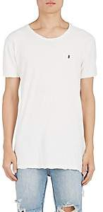 Ksubi Men's Cross Dollar Cotton-Linen T-Shirt - White