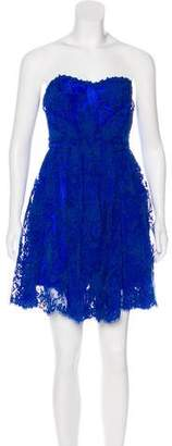 Issa Lace Strapless Dress
