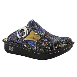Alegria Women's Alegria, Classic Slip on Clog BLACK MULTI 4 M