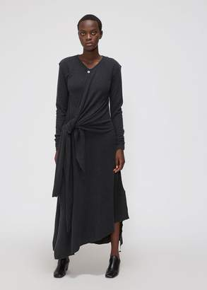 Lemaire Long Sleeve Knotted Dress